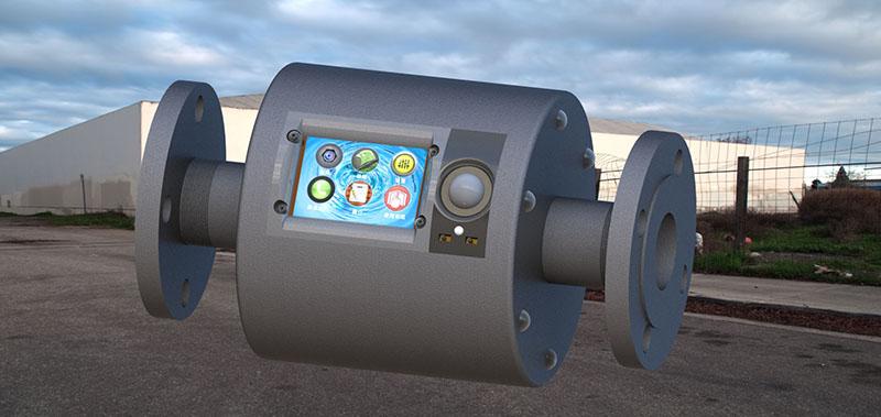 磁翼龙在线监测除垢器在空压机除垢上的应用